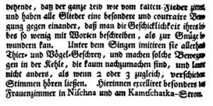 1741/42 Reisetagebuch, gedruckt 1774 Frankfurt/Leipzig